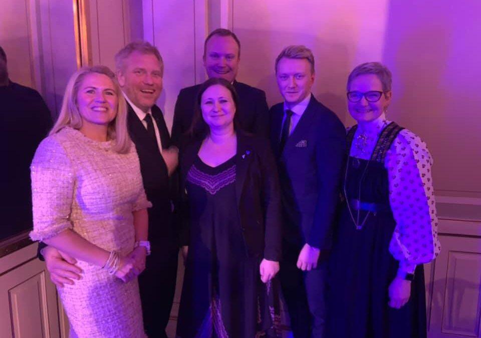 Siste natt med samarbeidspartiene i HUU 2015-2019